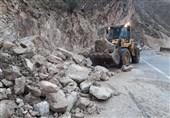 کرمانشاه| زلزله امروز تازهآباد سبب ریزش کوه در برخی از مسیرها شد