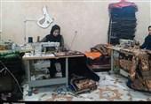 کردستان| کارآفرین کامیارانی بدون حمایت مسئولان 44 نفر را شاغل کرد + تصاویر