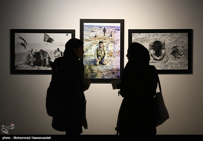 نمایشگاه عکس آتش سرد