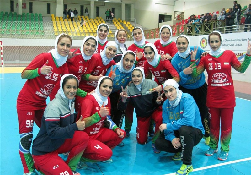 Iran One Game Away from West Asian Women's Handball Championship Title