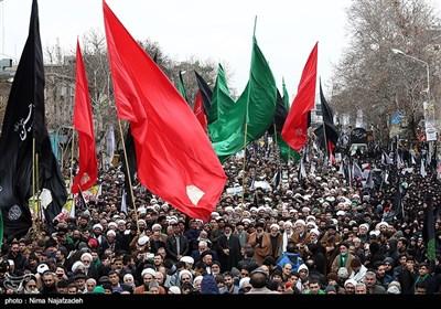 اجتماع عظیم عزاداران فاطمی در مشهد