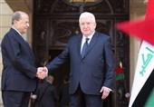 Lübnan Ve Irak Cumhurbaşkanları İki Ülke Arasındaki İlişkileri Görüştü