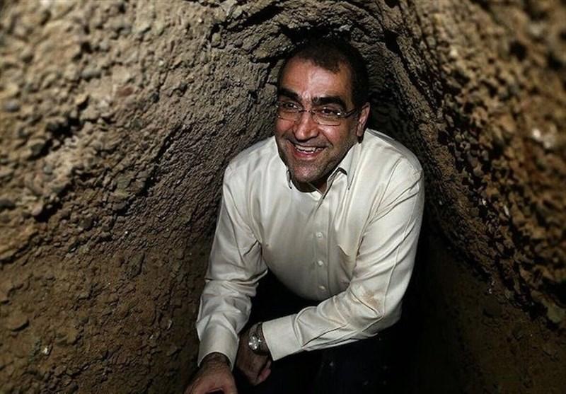 جهاد سازندگی   وزیر بهداشت؛ 40 سال قبل، در دشت شقایق + عکس