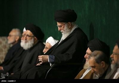 اقامه عزای شام شهادت حضرت زهرا(س) با حضور رهبر معظم انقلاب