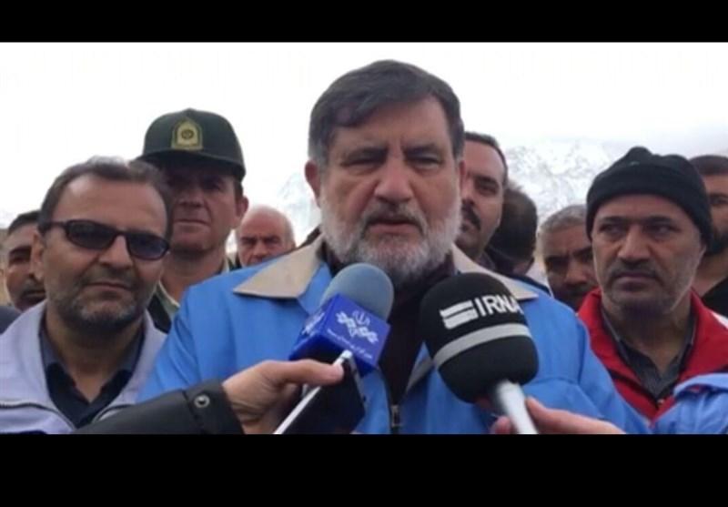 اصفهان| معاون وزیر کشور: امکان استمرار عملیات در ارتفاعات دنا وجود ندارد