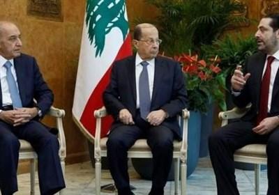 توافق روسای سه گانه لبنان در مخالفت با پیشنهاد آمریکا برای تقسیم مرزها