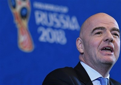 اینفانتینو: روسیه 99 درصد آماده میزبانی از جام جهانی 2018 است