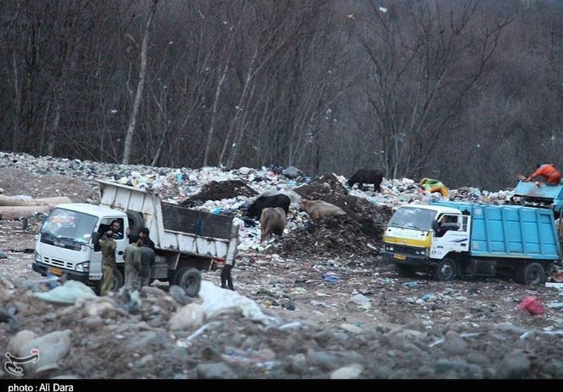 رشت| مشکلات سایت زباله سراوان میراث سوء مدیریت است