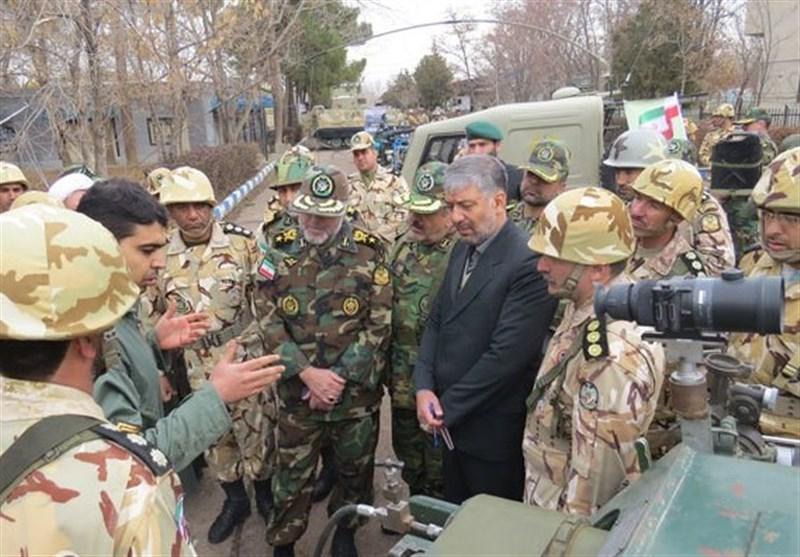 قزوین| امیر حیدری: ایران در ساخت تجهیزات نظامی خودکفا شده/ حضور ارتش در مرزها مقتدرانه و تیزبینانه است