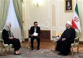 روحانی در دیدار با وزیر امورخاجه هلند: قدرت دفاعی ایران قابل مذاکره نیست