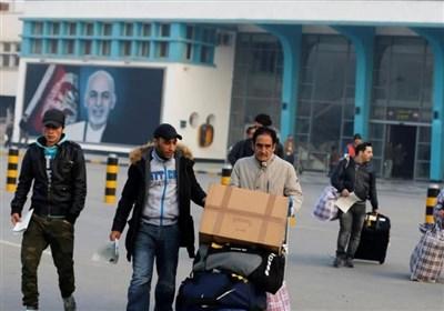 فرود دهمین هواپیمای حامل پناهجویان اخراجی افغان از آلمان در کابل