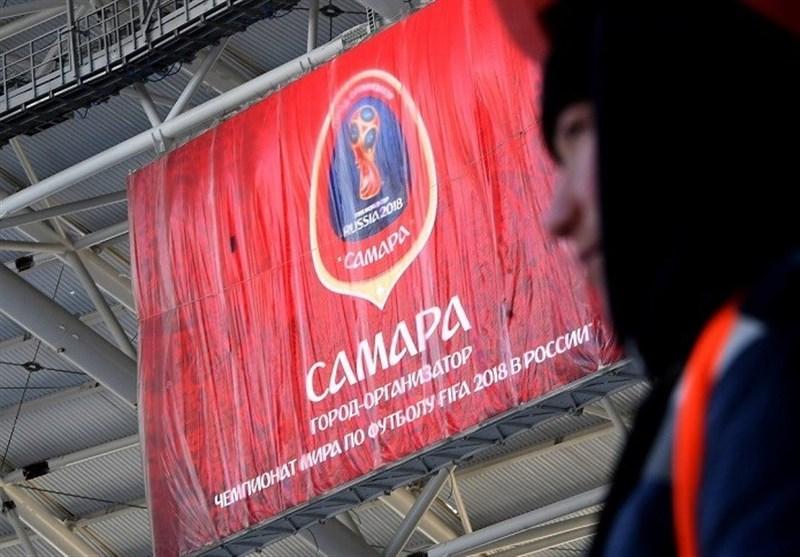 هدیه توپ جام جهانی ۲۰۱۸ به رئیسجمهور کلمبیا/ لاین جدید تراموا در سامارا