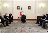 تاکید روحانی بر ضرورت مقابله با تروریسم در دیدار وزیر خارجه اسپانیا