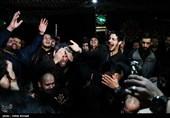 مراسم وداع با پیکر شهید بسیجی محمدحسین حدادیان