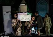 """مراسم وداع با پیکر شهید بسیجی آشوب خیابان پاسداران """"محمد حسین حدادیان"""""""