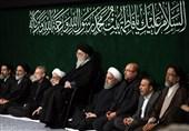 پنجمین شب اقامه عزای حضرت زهرا (س) با حضور رهبر معظم انقلاب
