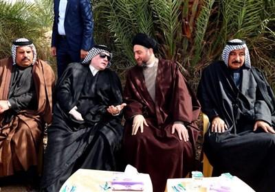 تمجید عمار حکیم از فداکاری عشایر عراقی و مواضع ملی آن ها