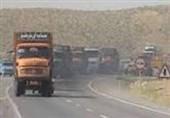 تردد وسایل نقلیه سنگین در محور بیرجند- قاین ممنوع شد
