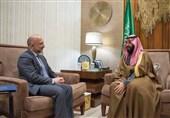 دیدار مشاور امنیت ملی افغانستان با «بن سلمان»