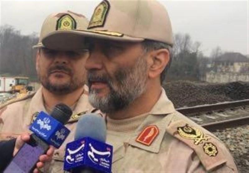 اربعین حسینی|فرمانده مرزبانی ناجا: امنیت خوبی در مرزهای ایران و عراق برقرار است