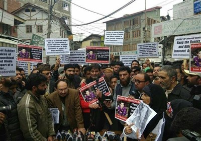 تصویر | معصوم آصفہ کی عصمت دری اور قتل میں ملوث افراد کو سزائے موت دی جائے, مشترکہ مزاحمتی قیادت