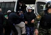 پذیرایی فلسطینیان از هیئت آمریکایی با کفش و تخم مرغ