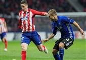 لیگ اروپا صعود لاتزیو و اتلتیکو مادرید و حذف ناپولی در شب ناکامی هم تیمی های شجاعی