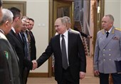 پوتین: ارتش روسیه قدرت و قاطعیت خود را در سوریه اثبات کرد