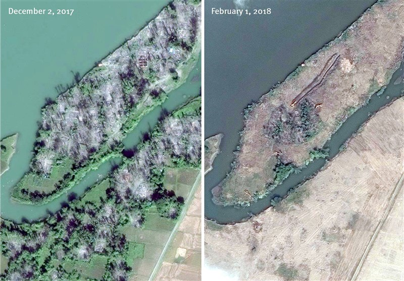 Scores of Rohingya Villages Bulldozed by Myanmar: HRW