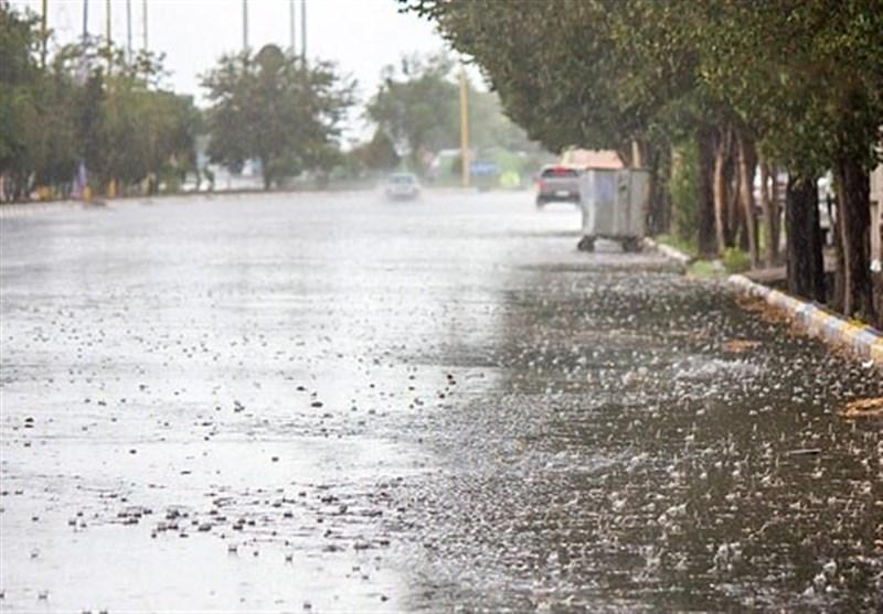 استمرار سامانه بارشی از عصر امروز تا سه شنبه در خراسان شمالی/ کاهش 8 تا 10 درجه ای دما تا روز دوشنبه