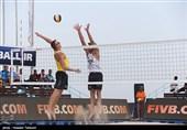 ملیپوشان والیبال ساحلی ایران نقرهای شدند