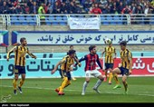 لیگ برتر فوتبال|پیروزی سپاهان مقابل گسترش فولاد و تساوی یک مسابقه در پایان نیمه اول
