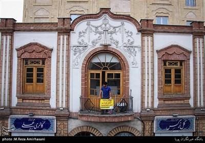 بناهای قدیمی در خیابان وحدت اسلامی با همکاری شهرداری مرمت و نوسازی شده است