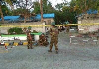 انفجار 3 بمب در مرکز استان راخین میانمار