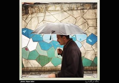 بارندگی امروز تهران