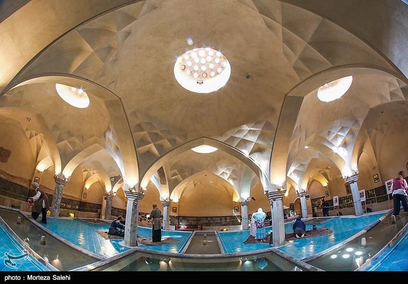 Rehnan Historical Bath in Iran's Isfahan