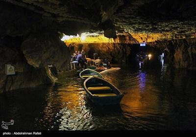 غار علیصدر - همدان