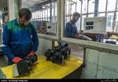 کارخانه صنایع چراغ اتومبیل مدرن