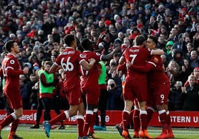 لیگ برتر انگلیس| لیورپول با درخشش جان و صلاح برد و از من یونایتد سبقت گرفت