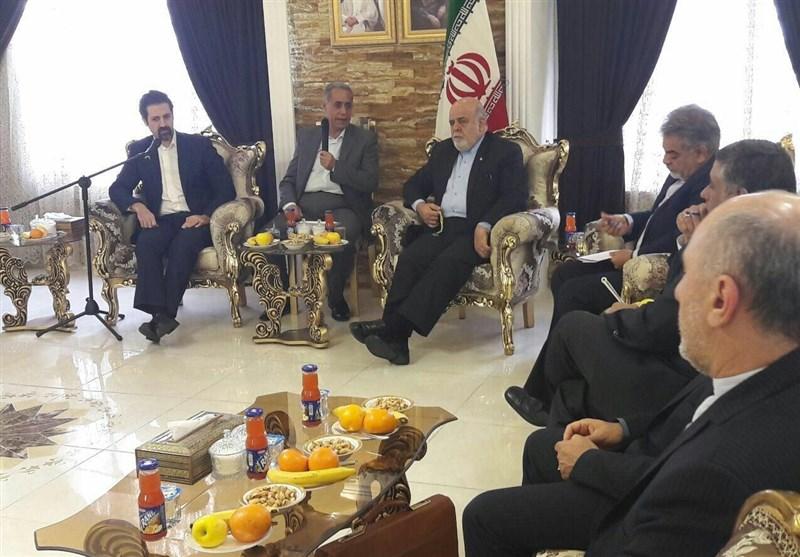 مساعد رئیس وزراء کردستان العراق یجتمع بالسفیر الإیرانی ورؤساء ممثلیات الجمهوریة الاسلامیة فی الاقلیم