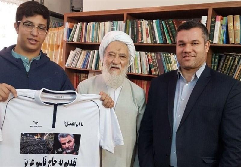 تیراندازی با کمان| تقدیر نایب رئیس مجلس خبرگان از حسینی