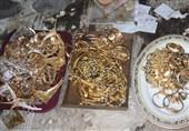 بیش از 3 کیلوگرم طلا قاچاق در مرز کردستان کشف شد