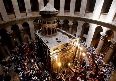 کلیسای قیامت در بیت المقدس تعطیل شد