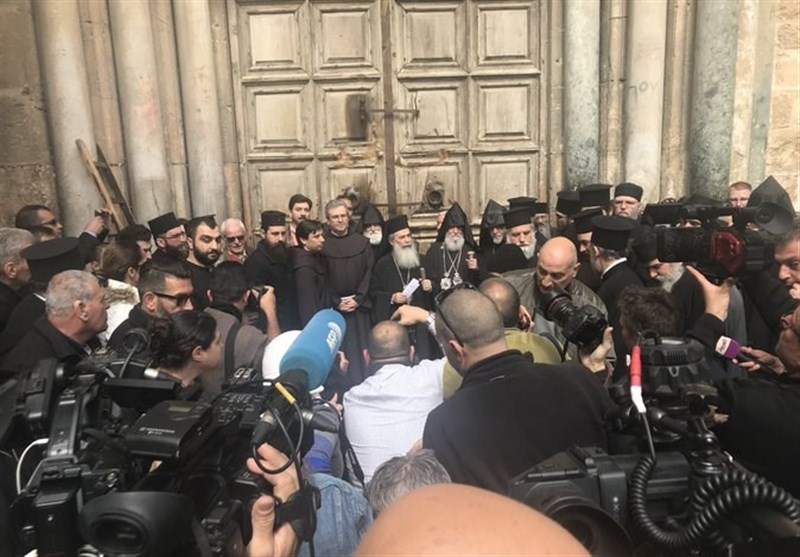 Church Leaders Shut Jerusalem's Church of the Holy Sepulchre in Land, Tax Protest