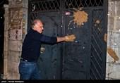 احمد نجفی درب خانه شماره 2 سینما را گِل گرفت