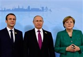 گفتوگوی تلفنی پوتین، مرکل و ماکرون درباره سوریه