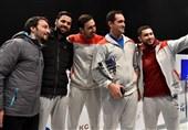 صعود تاریخی تیم ملی سابر ایران به رده چهارم جهان برای نخستین بار