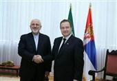ظریف در اولین مقصد سفرش به بالکان وارد صربستان شد