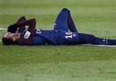 باشگاه پاریسنژرمن غیبت نیمار مقابل رئال مادرید را تأیید کرد/ استخوان پای مهاجم برزیلی شکسته است