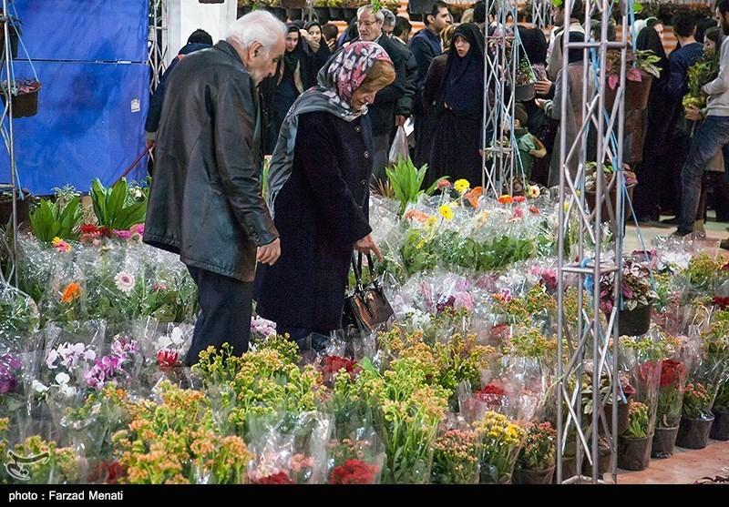 همدان| سیزدهمین نمایشگاه گل و گیاه و ماهیان زینتی در همدان گشایش یافت